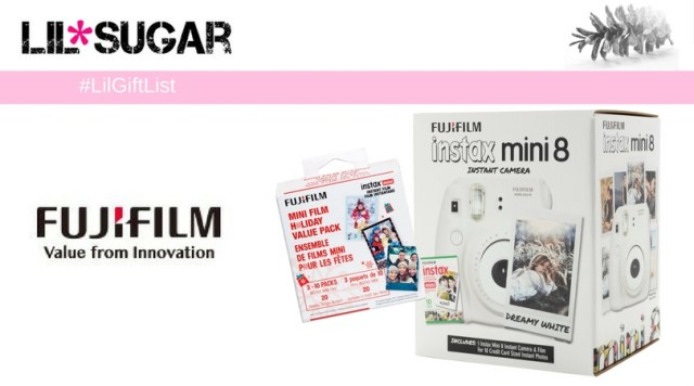 Take Fun On The Go With FujiFilm Instax 8! #LilGiftList