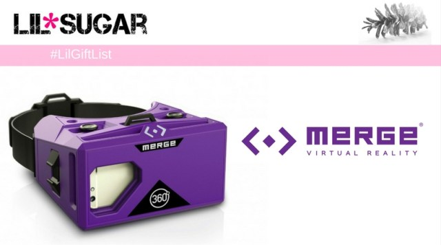 Visit Another Dimention With Merge VR For The Holidays! #LilGiftList