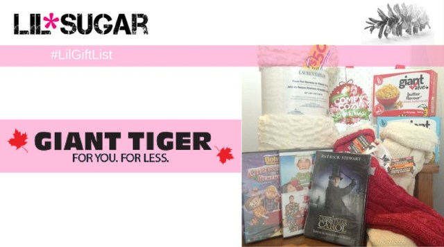Get Comfy Cozy With A Giant Tiger Movie Night! #LilGiftList