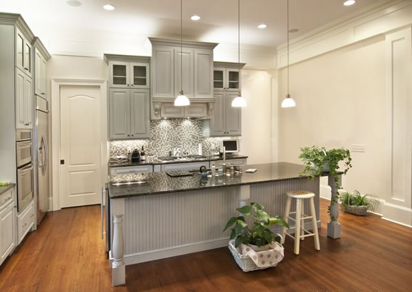 Dark Gray Kitchen Cabinets With Light Gray Walls Choosing Cabinet Paint Colors - Gray Or Creamy White