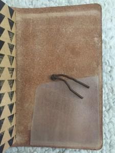 Chic Sparrow Pocket Creme Brule, Midori #004 stick-on pocket, fauxdori, jendori