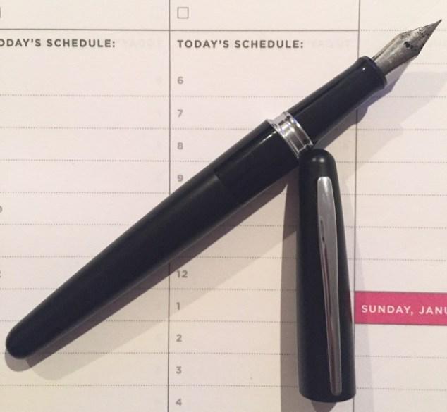 fountain pen, pens, Day Designer, planner, planners
