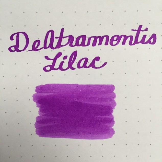 fountain pen, fountain pen inks, deatramentis, de atramentis, deatramentis lilac, rhodia, dot grid, holiday, gift ideas