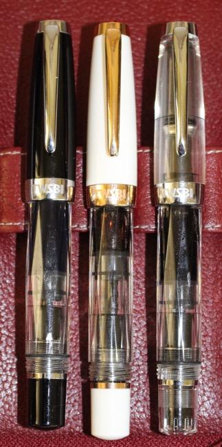 fountain pens, piston filling, TWSBI mini