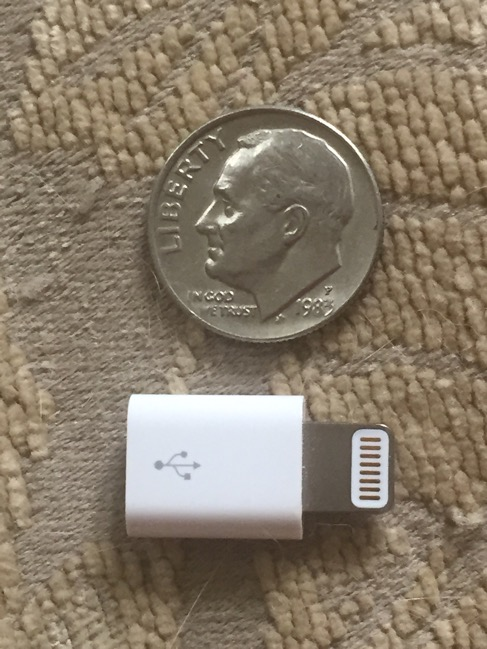 tech gems, technology, technology accessories, Apple, Apple MicroUSB to Lightening Adapter