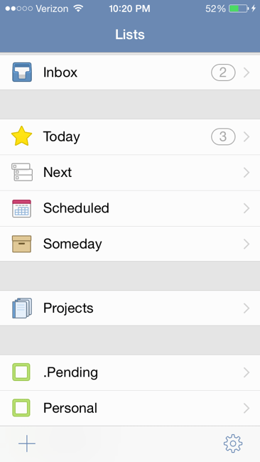 planners, organizers, Things App, task application