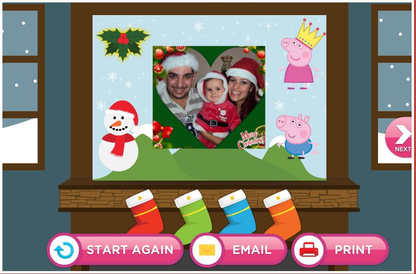 Nick Jr Card-o-Matic Create Free Personalised Christmas Cards