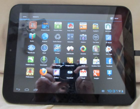 How to install Android 4.0 or 4.1 on the HP TouchPad (CyanogenMod) (6/6)