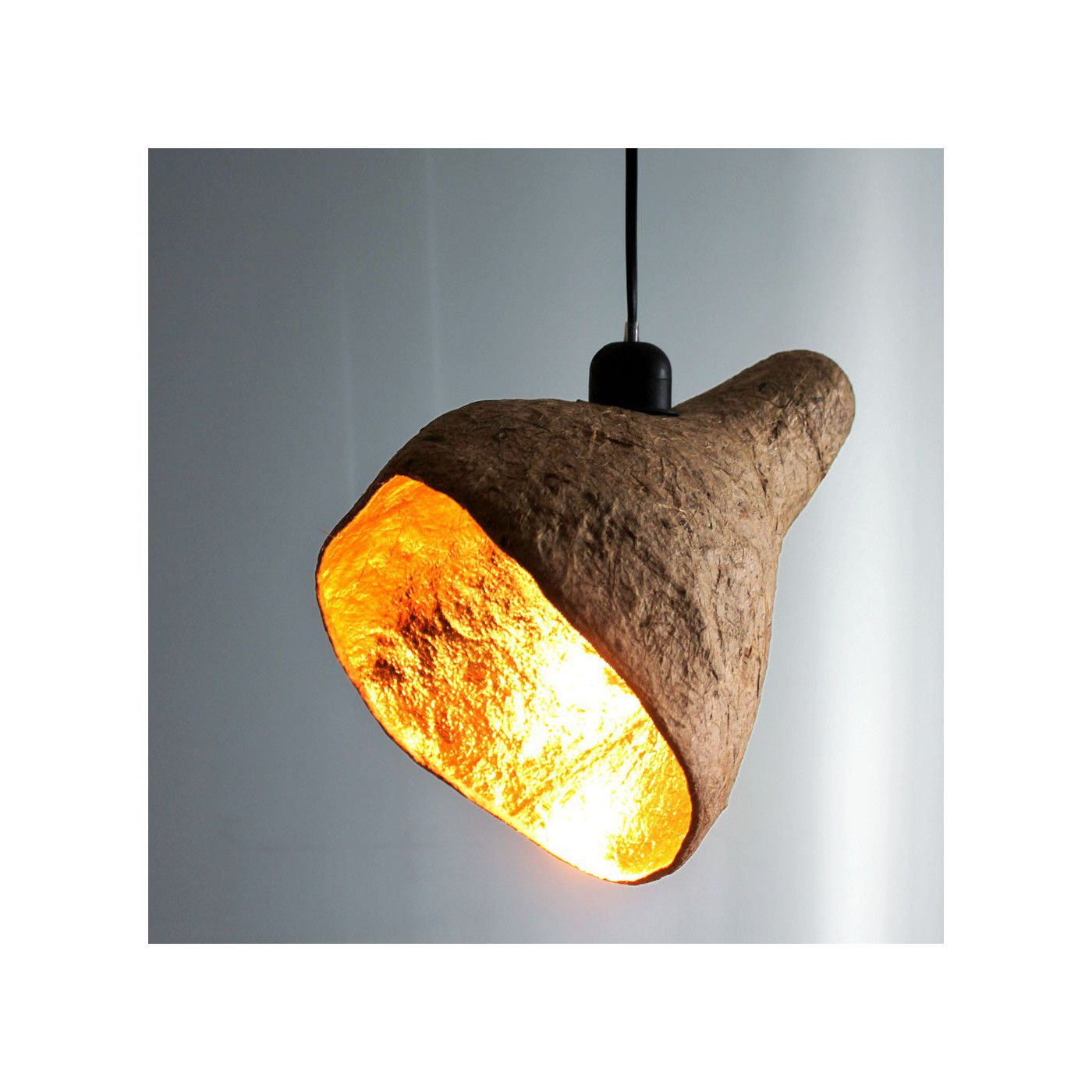 Lampe Suspension Gold Decorama - Lampe Gold