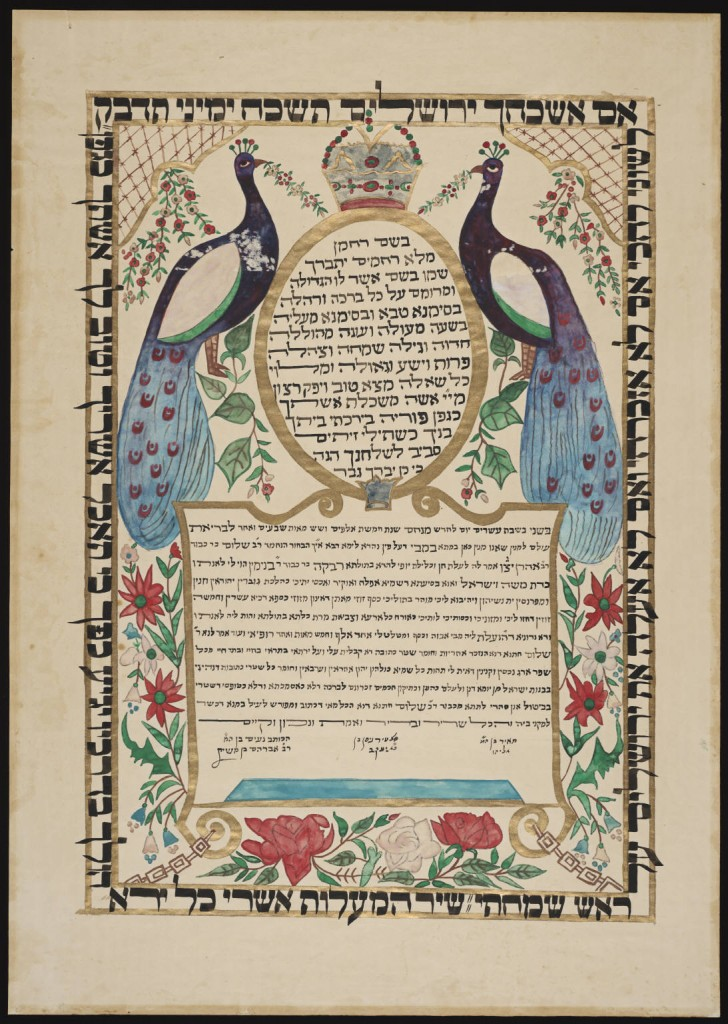 Muslim and Jewish Marriage Contracts in American Courts Lilith - marriage contract