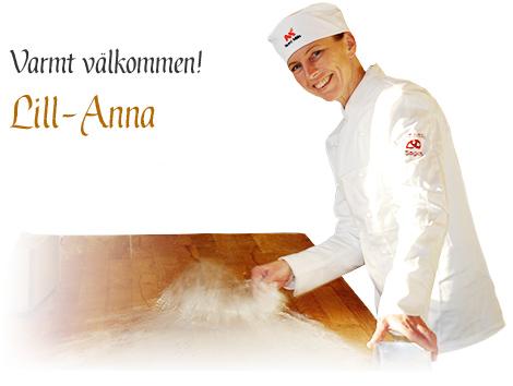 Lill-Anna hälsar varmt välkommen