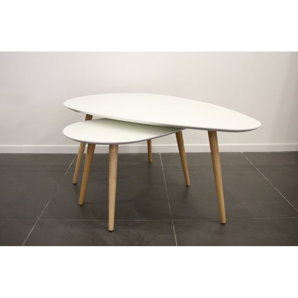 Tables Basses Rondes Gigognes Table Basse Ronde Blanche Ikea Lille Menage Fr Maison