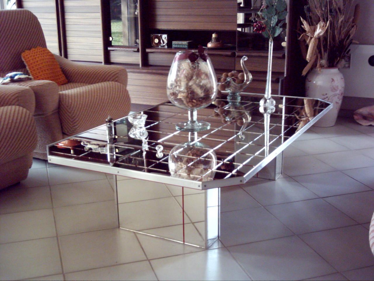c88733d516ba62 Table Salon Moderne En Verre   Table Basse Verre Unique Table De ...