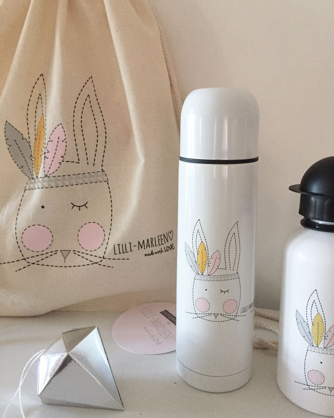 Thermos Thermoskanne Squaw Hare Thermos Flask
