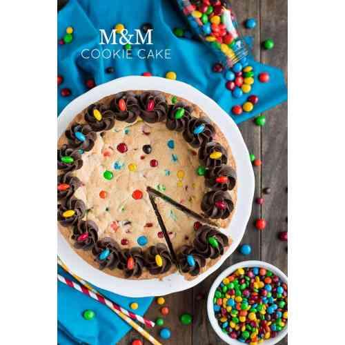 Medium Crop Of Cookie Cake Recipe