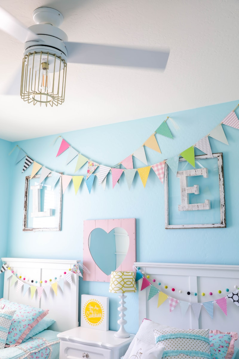 Ceiling Fan Girls Room Decorating Ideas For Kids Rooms