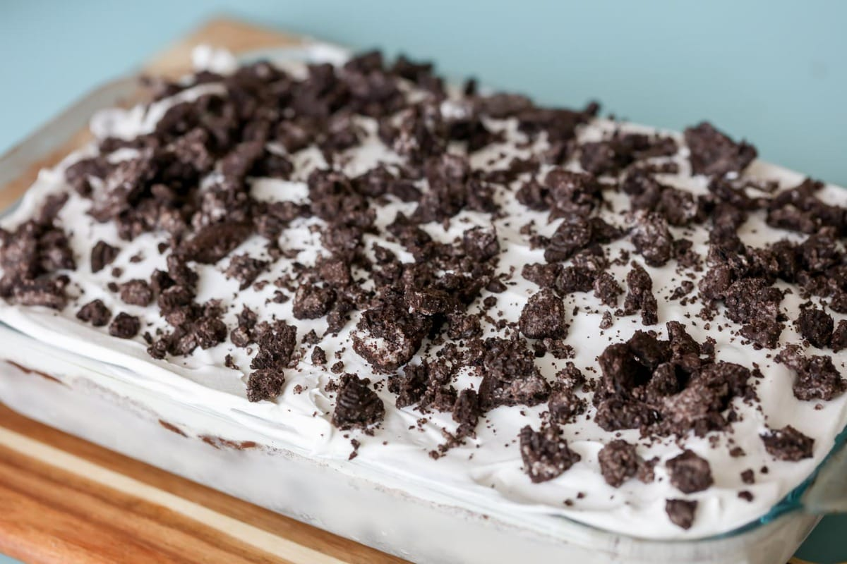 Vegane Oreo Torte Oreo Ice Cream Cake Just 5 Ingredients Lil Luna
