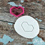 Chubby Geo Heart Cutter | Lil Miss Cakes