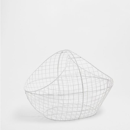 white-basket-home-decor