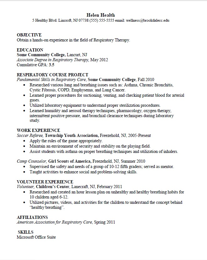 science industry resume template