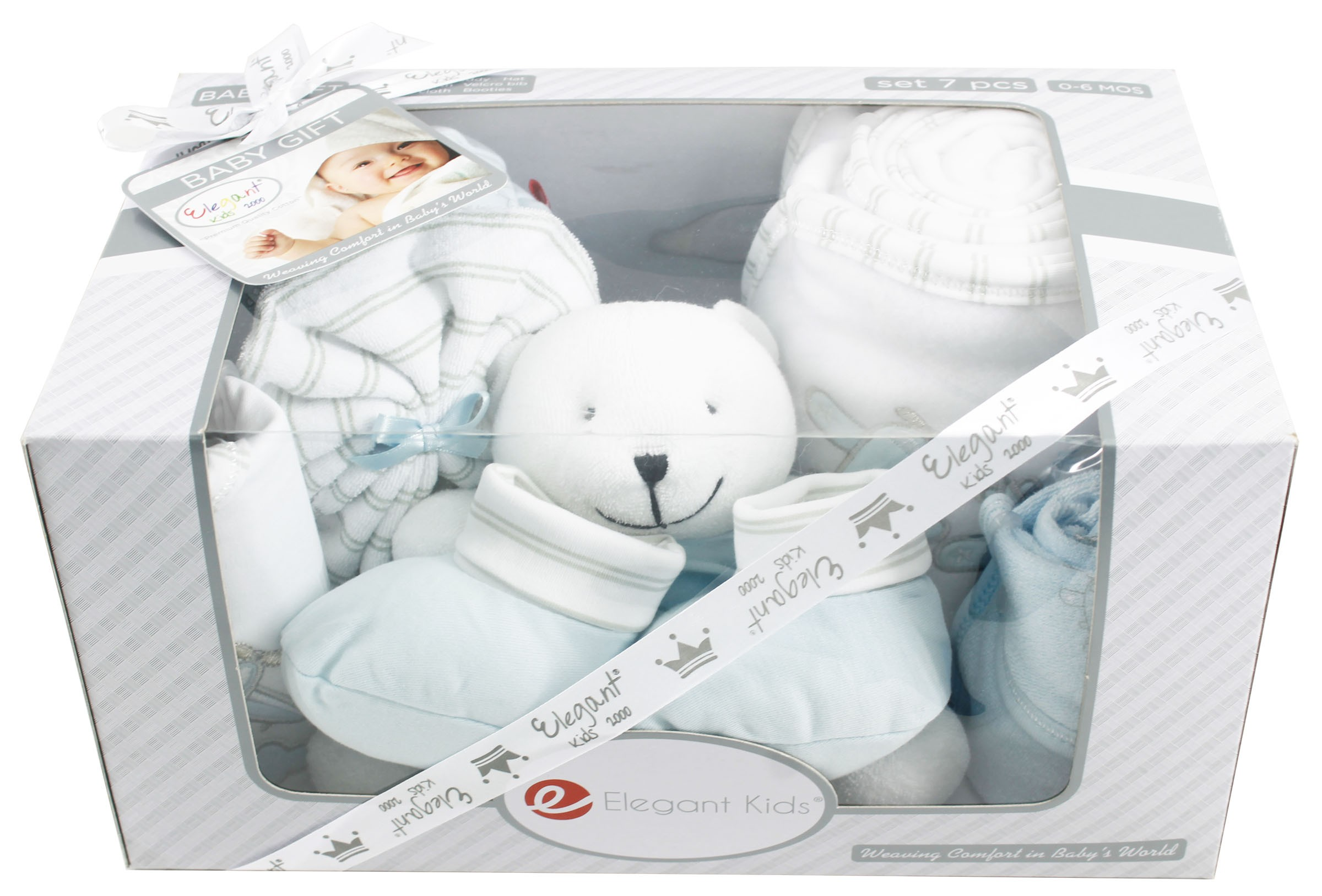 Bad Set For Baby Elegant Kids 7 Pcs Gift Set For Gift Sets