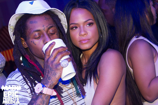 Cash Pool Bad Kissingen Lil Wayne Attends & Performs Live At Foxtail Pool Club In