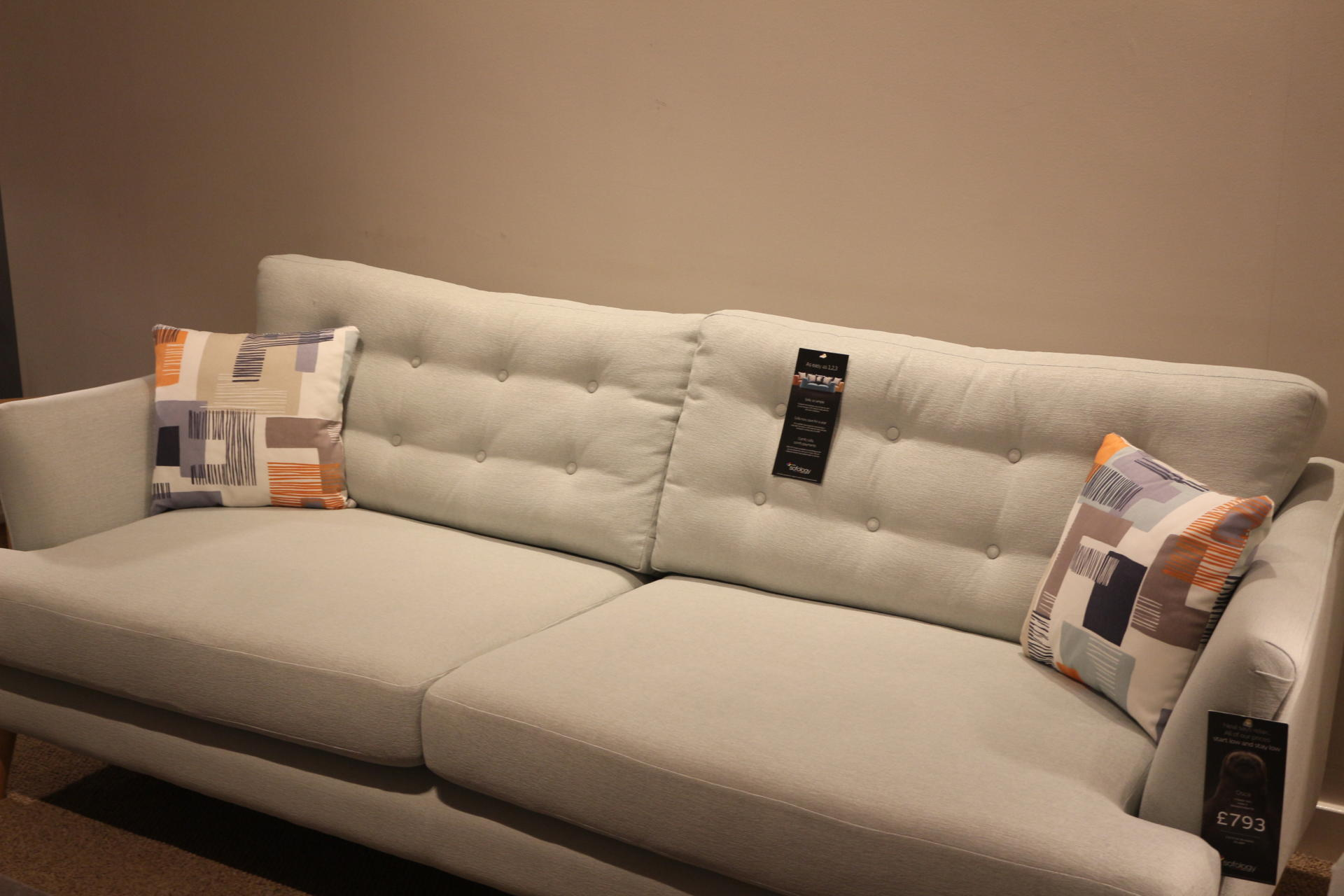 Sofology Yellow Sofa My Sofa Shopping Experience At Sofology White City Manchester