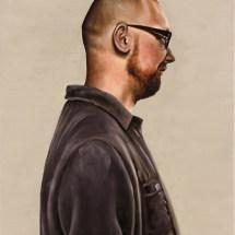 Christian, 40 x 50cm, oil on canvas, 2012