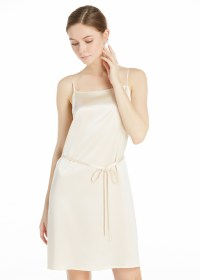 22MM Subtle A Line Silk Camisole Dress Hot Sale on Lilysilk