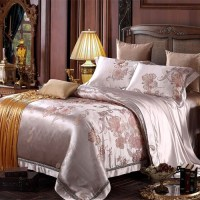 Quality 22 Momme Silk Bedding Set Angelina