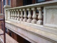 Pics For > Balcony Cement Railing