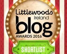 Blog Awards Shortlist Nominee 2016