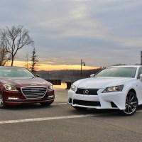 New & Old: Hyundai Genesis vs. Lexus GS350