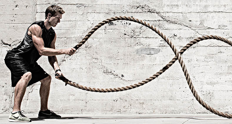 THE BEGINNERS GUIDE TO BATTLE ROPE TRAINING