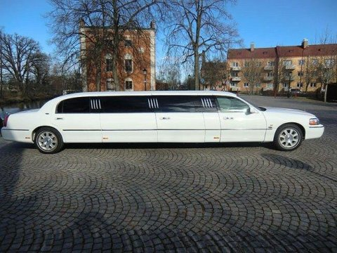 Lincoln Town Car Limo Stretch Limousine -05