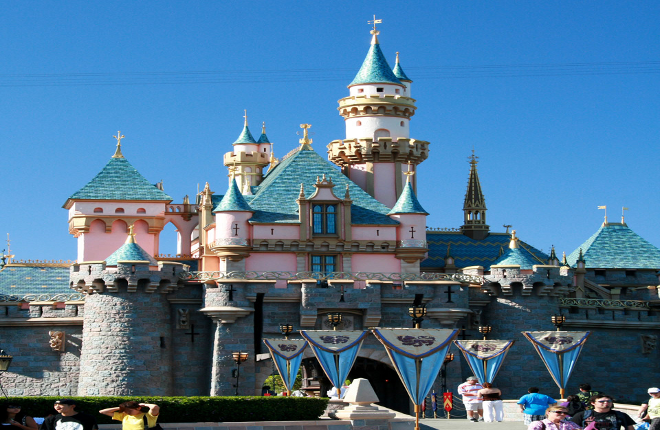 Anaheim Disneyland limousine