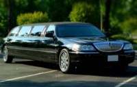 Black Stretched Limousines