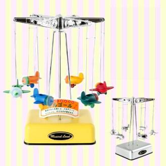 Airplane Windup Music Box 비행기 오르골
