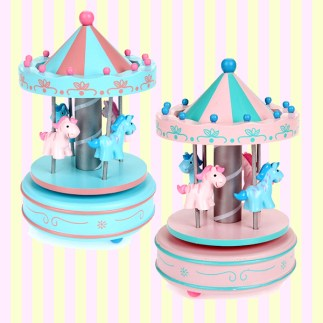 Material: Wood Color: Pink, Sky Blue