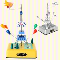 Musical Land Eiffel Tower Music Box 뮤지컬랜드 에펠탑 오르골