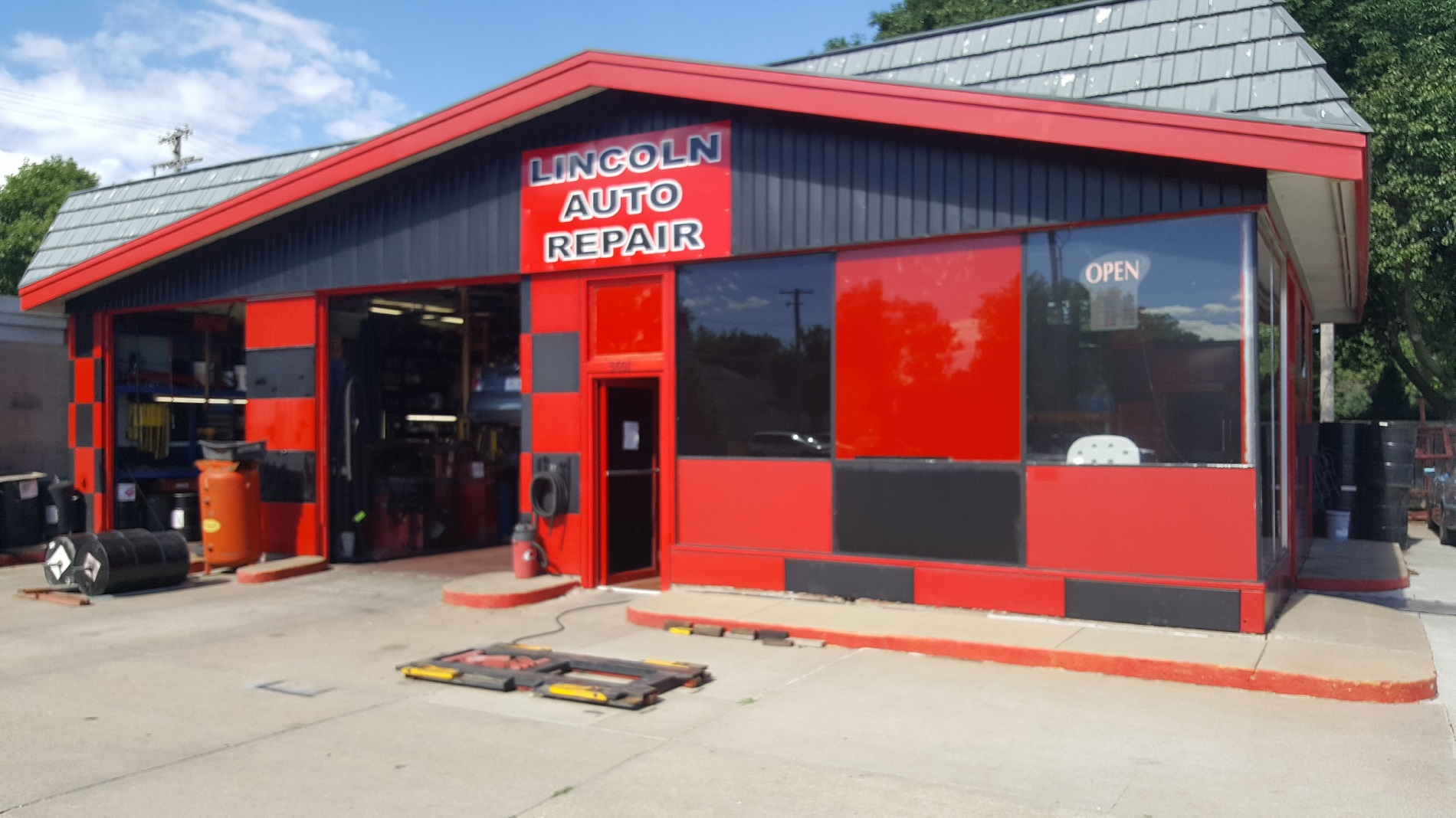 Repair Shop Lincoln Auto Repair Lincoln S Premier Auto Repair Shop