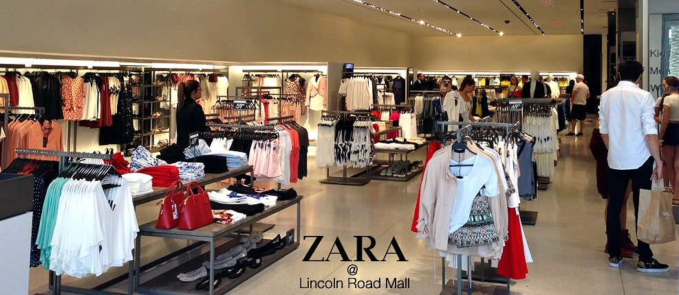 ZARA Now open on Lincoln Road Mall