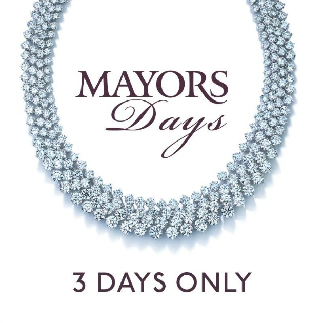 Mayors Days @ Mayors Jewelry on Lincoln Road Mall