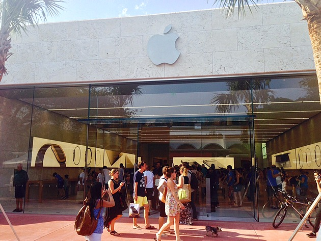 New Apple store Lincoln Road