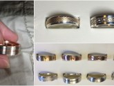 Unique men's wedding ring collection stolen in Grantham