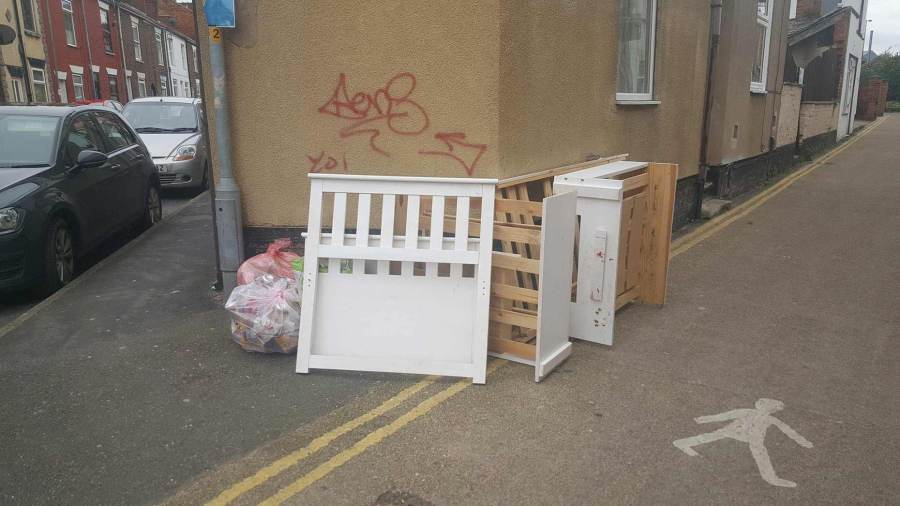 Grantham Fly Tipper Handed 163 1k Fine After Being Caught