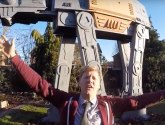 Stamford inventor builds incredible Star Wars playhouse in back garden