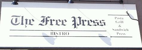 Free Press Bistro - Edmonton