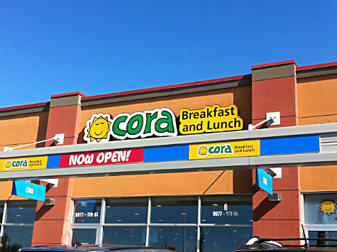 Cora Breakfast and Lunch in West Edmonton!