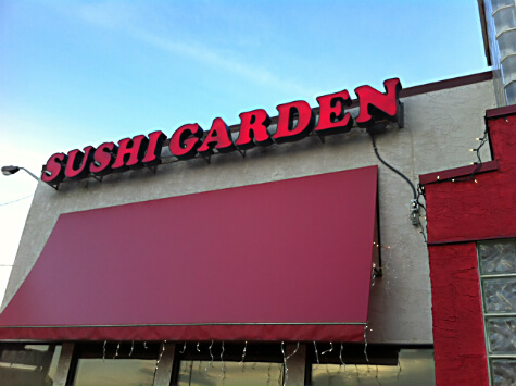 Sushi Garden at 10401 Mayfield Rd.
